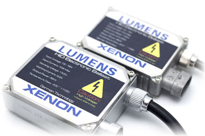 Picture of both standard and small ballasts