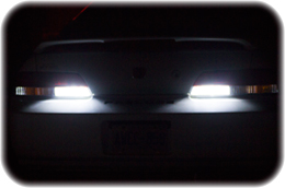 Honda Prelude with White LED Reverse Lights